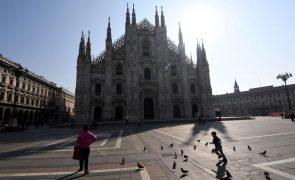 Covid-19: Itália regista mais 23.649 contágios e amplia restrições