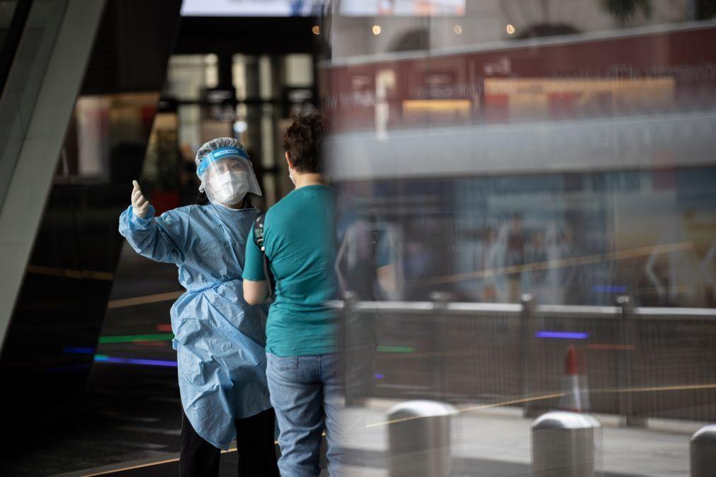 Covid-19: China soma nove casos nas últimas 24 horas, incluindo quatro por contágio local