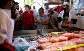 Covid-19: México com 190 mortos e 3.089 casos nas últimas 24 horas