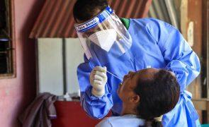 Covid-19: Casos ativos em Timor-Leste baixam pela primeira vez em semanas