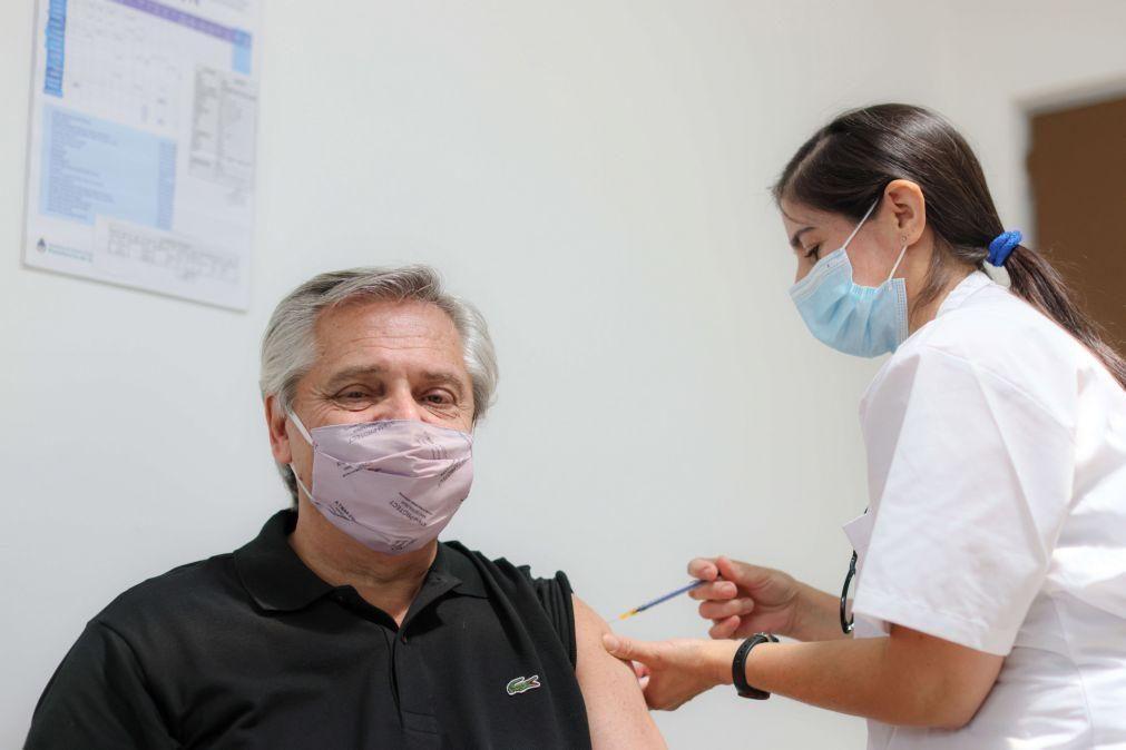 Covid-19: Centro russo deseja melhoras a PR argentino vacinado com Sputnik V