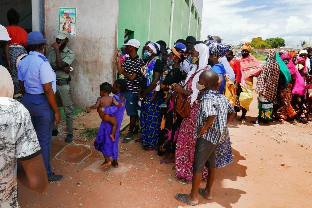 Moçambique/Ataques: Cerca de 9.900 pessoas deslocadas de Palma, quase metade crianças
