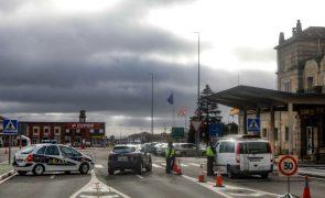Covid-19: Espanha mantém fronteira com Portugal fechada até pelo menos 16 de abril