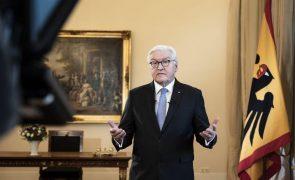 Presidente alemão afirma que o país vive uma