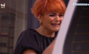 Fanny Rodrigues lavada em lágrimas ao reencontrar o pai com esquema de Cristina Ferreira