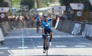 Alejandro Valverde torna-se o mais velho vencedor do Grande Prémio Miguel Indurain