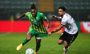 Sílvio volta aos convocados do Vitória de Guimarães após três meses lesionado