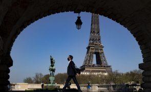 Covid-19: França com 187 mortes nas últimas 24 horas