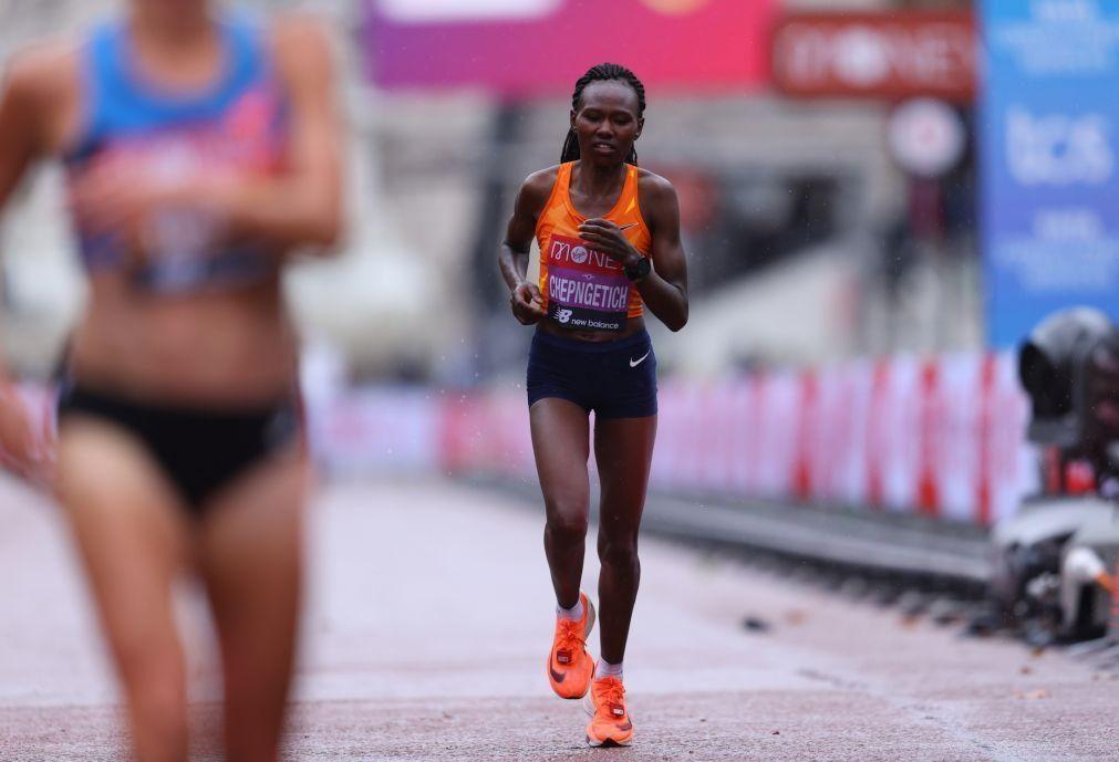 Ruth Chepngetich estabelece novo recorde mundial da meia-maratona em Istambul