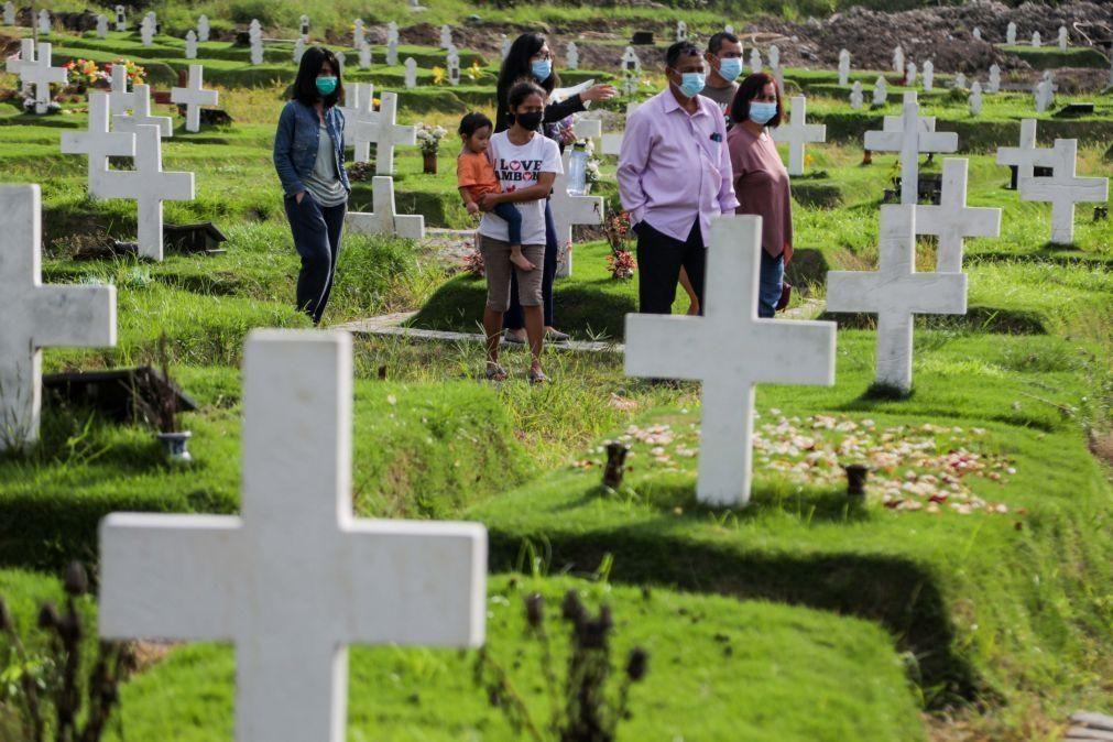 Covid-19: Pandemia já causou a morte a pelo menos 2.847.182 pessoas