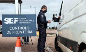 Covid-19: Fronteiras entre Portugal e Espanha vão continuar fechadas até 15 de abril