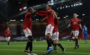 United 'vira' resultado ante Brighton e distancia-se na vice-liderança em Inglaterra