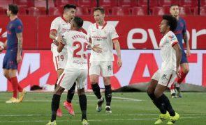Golo do ex-Sporting Acuña verga líder Atlético de Madrid