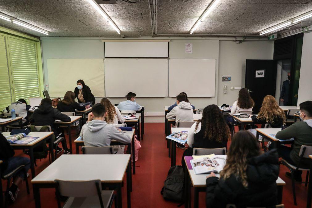 """O relato dos funcionários no dia do regresso às aulas: """"Sem alunos na escola, o tempo não passa"""""""