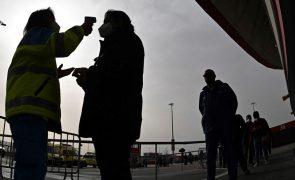 Covid-19: Espanha com 10.360 novos casos desde sábado com os contágios a subir
