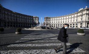 Covid-19: Itália com mais 10.680 casos com regiões a pedir alívio de restrições