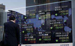 Bolsa de Tóquio fecha a perder 1,3%