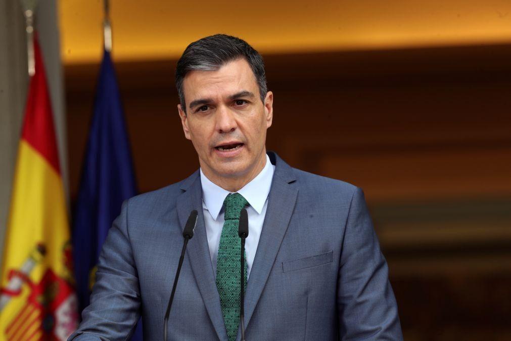 PM espanhol com empresários em visita a Angola considerado país prioritário
