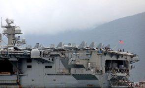 Força militar da China e Estados Unidos aumenta nos mares do Leste e do Sul