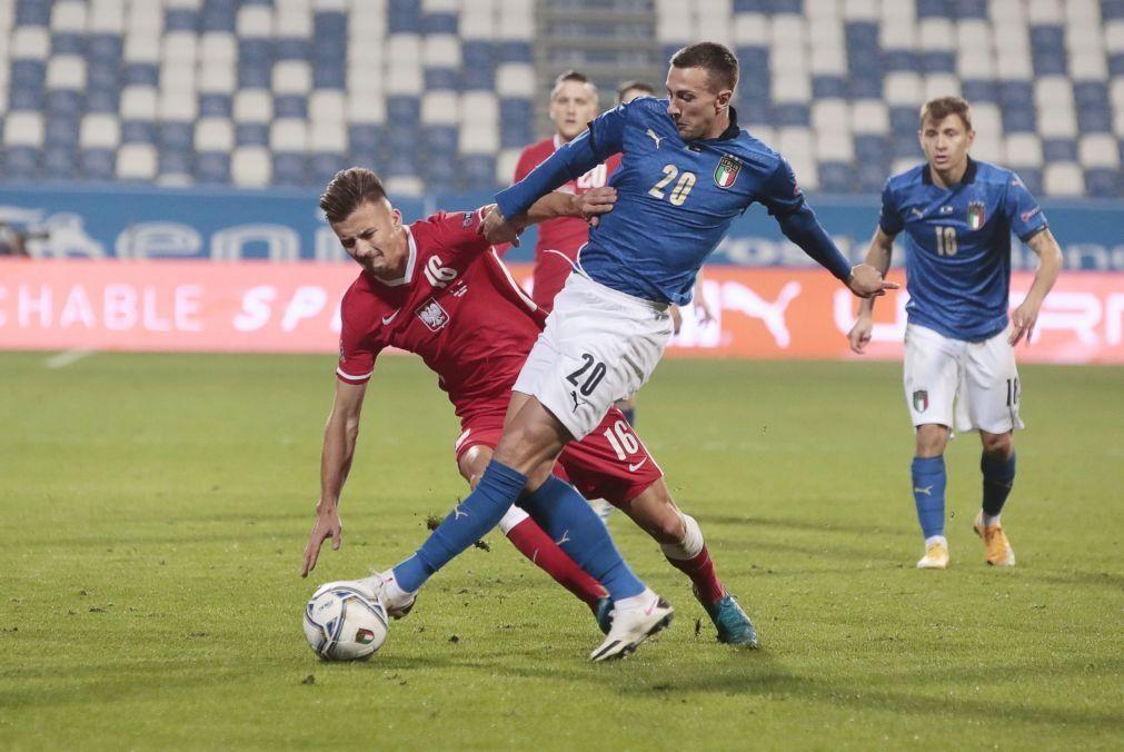 Covid-19: Bernardeschi tem teste positivo e aumenta casos entre internacionais italianos