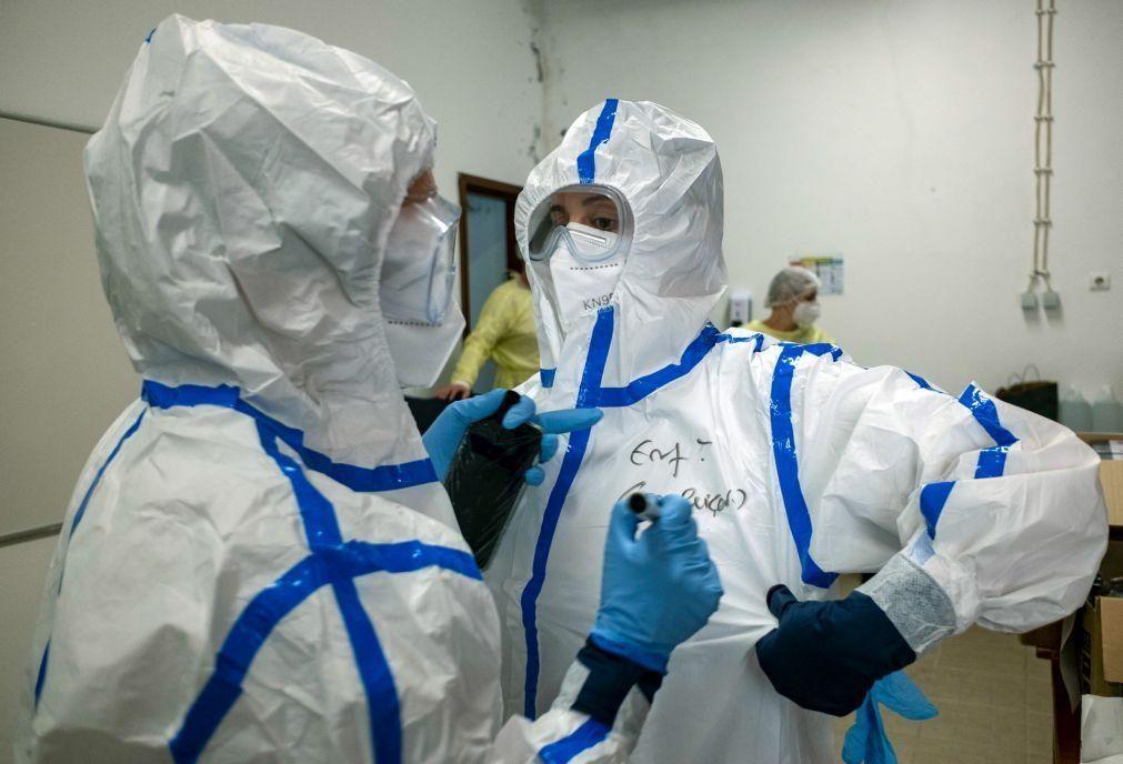 Covid-19: Pandemia já matou 2,86 milhões de pessoas em todo o mundo