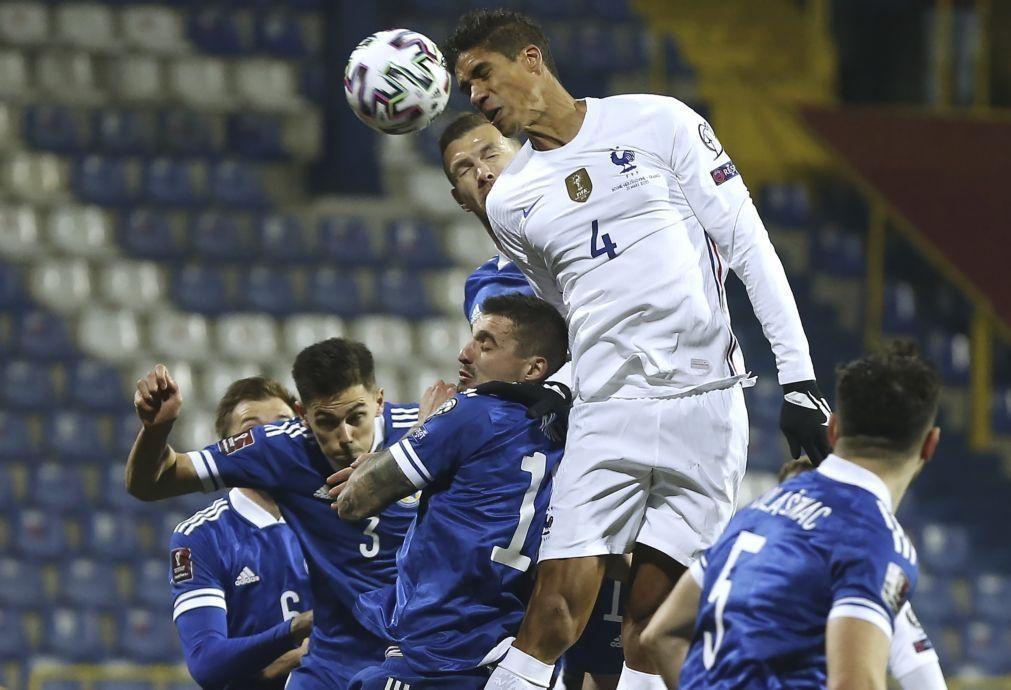 Covid-19: Varane com teste positivo desfalca Real Madrid frente ao Liverpool