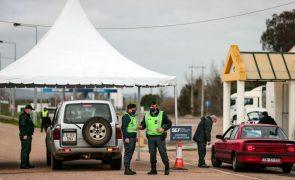 Covid-19: Fronteiras com Espanha fechadas enquanto for «estritamente necessário»