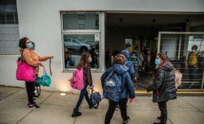 Covid-19: António Costa preocupado com velocidade de contágios nas escolas