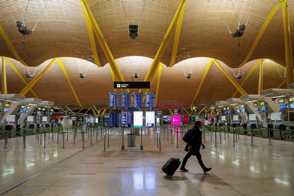 Covid-19: Espanha prolonga restrições para voos que cheguem do Brasil e da África do Sul