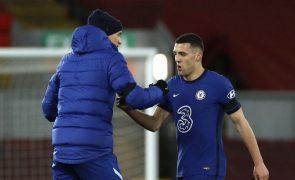 Mateo Kovacic rejeita ter visto festejos antecipados no balneário do Chelsea