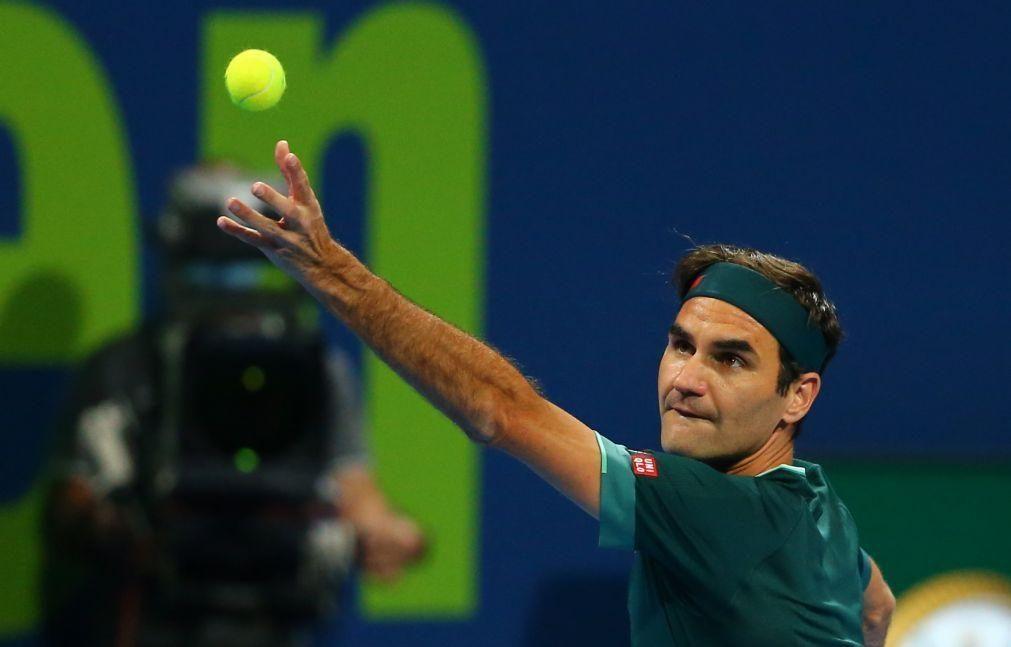 Roger Federer regressa à competição no Masters 1.000 de Madrid