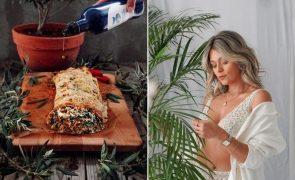 Vanessa Alfaro Ensina a fazer uma deliciosa receita vegetariana de Rolo de Soja crocante!