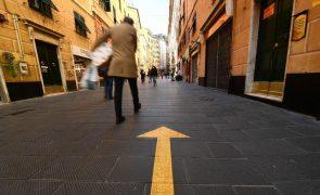 Covid-19: Itália soma 7.767 novos casos na véspera da reabertura das escolas