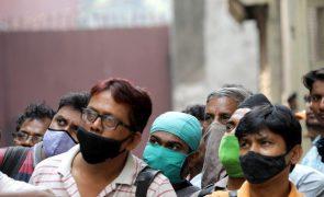 Covid-19: Índia regista 630 mortos e mais de 155 mil infetados, máximo diário de casos