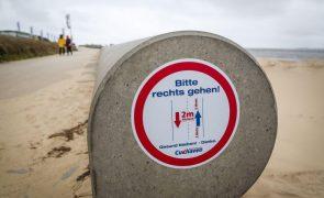 Covid-19: Alemanha registou 298 mortes e 9.677 novos casos nas últimas 24 horas