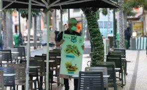 Restaurantes preocupados com incumprimento do uso de máscara nas esplanadas