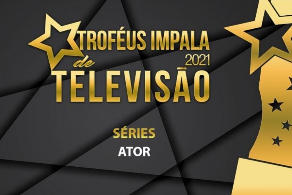 Troféus Impala de Televisão 2021: Nomeações na categoria de Melhor Ator de Série