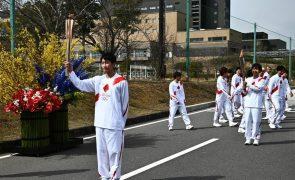Tóquio2020: Passagem da chama proibida nas ruas de Osaka