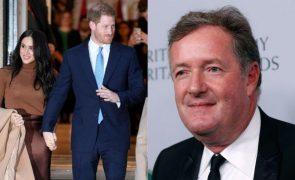 Piers Morgan Acusa príncipe Harry de hipocrisia: