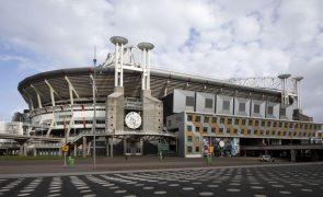 Euro2020: Arena Johan Cruyff deve receber pelo menos 12 mil espetadores por jogo