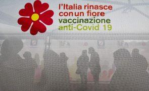 Covid-19: Itália com 627 mortes num dia, pior registo desde início de janeiro