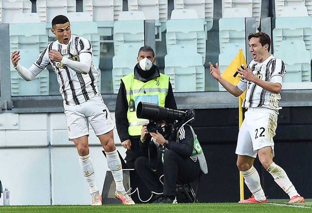 Cristiano Ronaldo marca no triunfo da Juventus, Inter ganha e reforça liderança