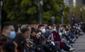 Covid-19: China com 24 casos em 24 horas, 11 de contágio local