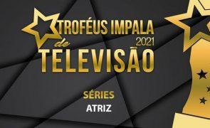 Troféus Impala de Televisão 2021: Nomeações na categoria de Melhor Atriz de Série