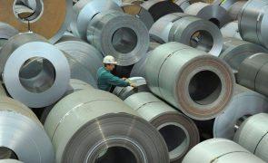 Preços na produção industrial sobem 1,5% na zona euro em fevereiro - Eurostat