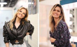 Cristina Ferreira e Diana Chaves usam calças iguais no mesmo dia