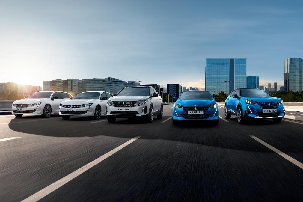 Peugeot lidera mercado automóvel português no primeiro trimestre do ano