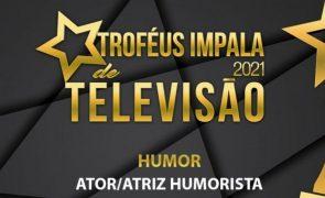 Troféus Impala de Televisão 2021: Nomeações na categoria de Melhor Ator/Atriz Humorista