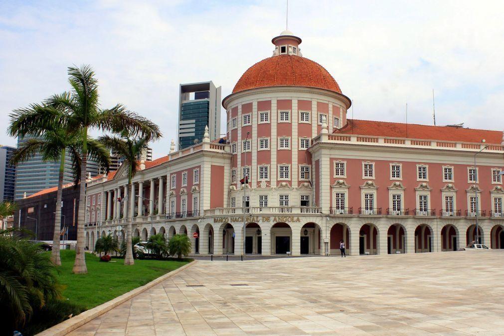 Banco central angolano multa instituições bancárias em 407 mil euros