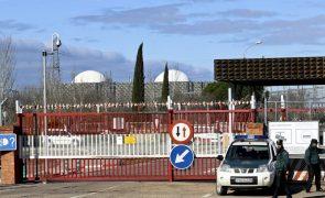 Reator nuclear II de Almaraz parado para recarga de combustível e manutenção